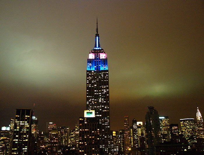 Designed by william f lamb empire state building is for 102nd floor empire state building
