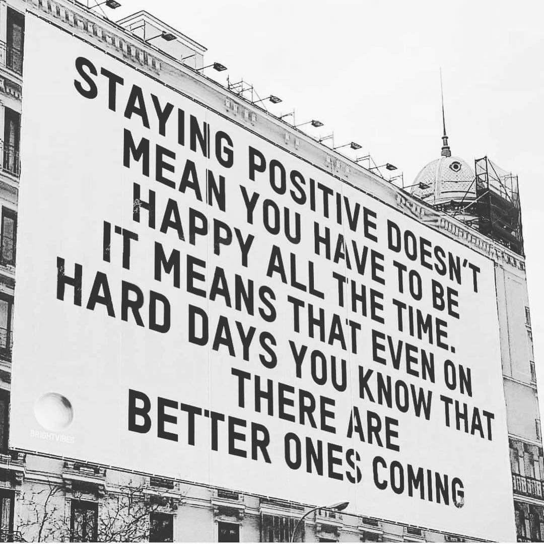 Always Be Positive Meme