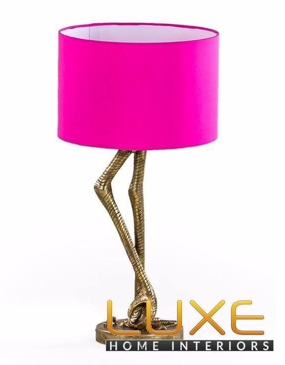 Antique gold flamingo leg table lamp with pink shade antique gold antique gold flamingo leg table lamp with pink shade aloadofball Choice Image