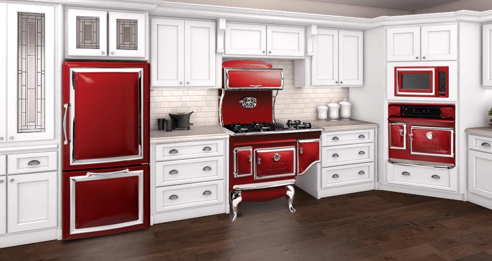 love valentine day elmira stove works appliances ranges retro contemporary modern kitchen on kitchen appliances id=23523