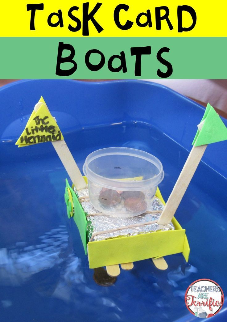 STEM Challenge Boats and Math Task Cards | Engineering ...