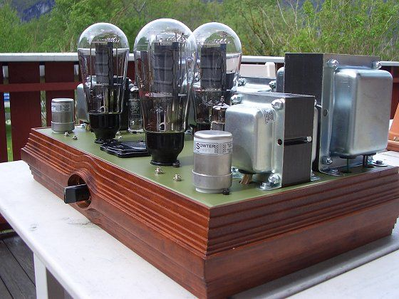 PX-25 Class A Push Pull Stereo Amplifier