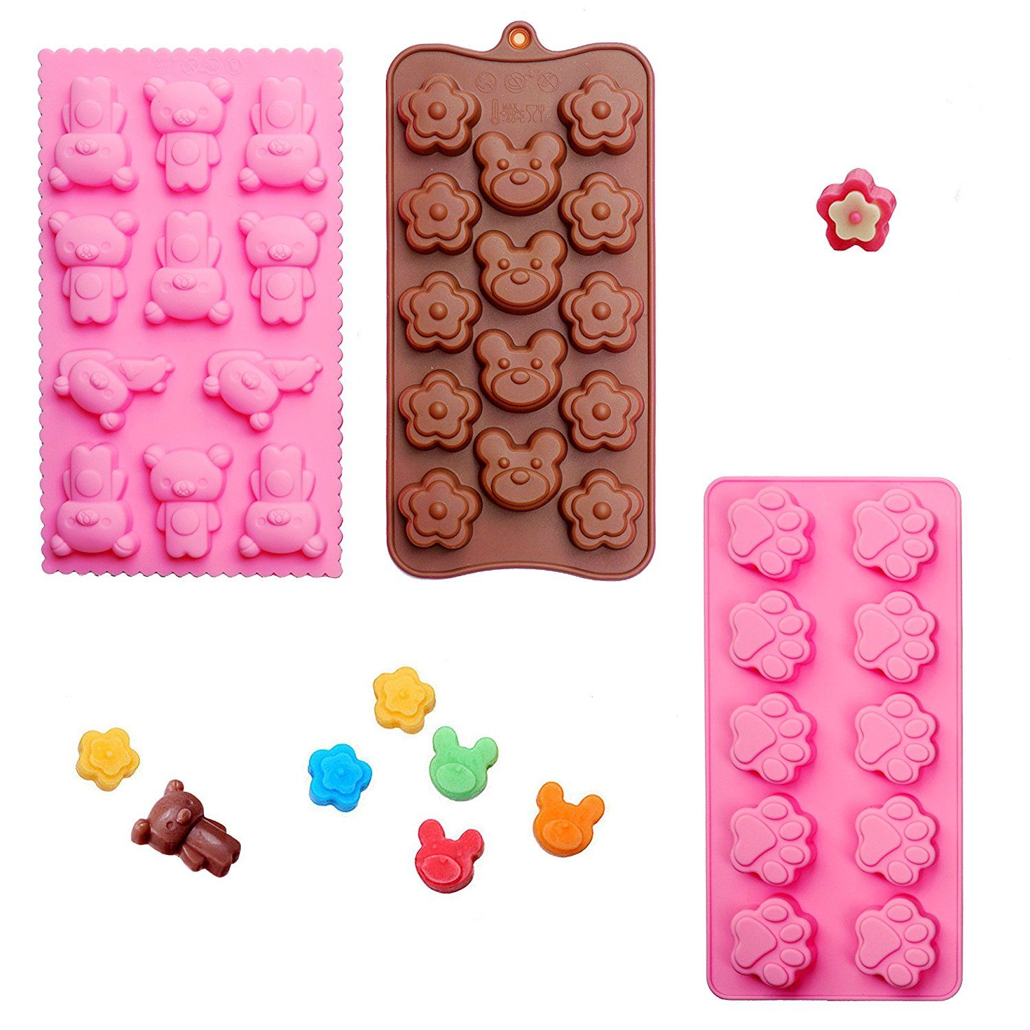 Fish Silicone Gummy Chocolate Baking Mold Ice Cube Tray Candy Jelly Mould DIY