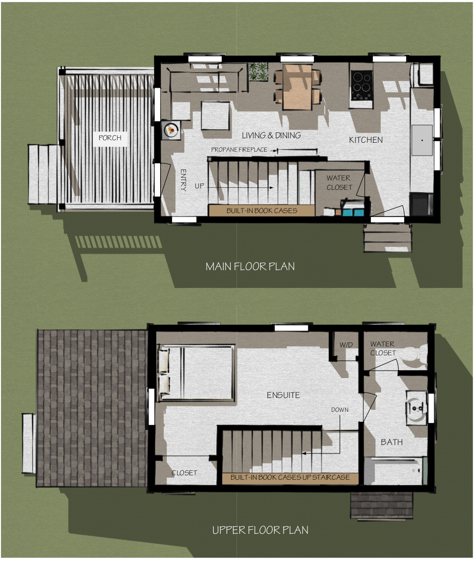 Tiny House Interior Floor Plan 2 bedroom floor plans - google search | my style | pinterest