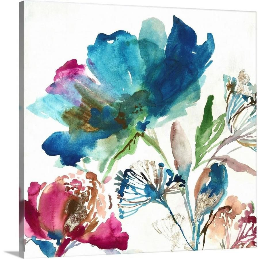 Greatbigcanvas Greatbigcanvas Frameless 16 In H X 16 In W Abstract Canvas Painting Lowes Com Abstract Canvas Painting Canvas Art Canvas Art Prints