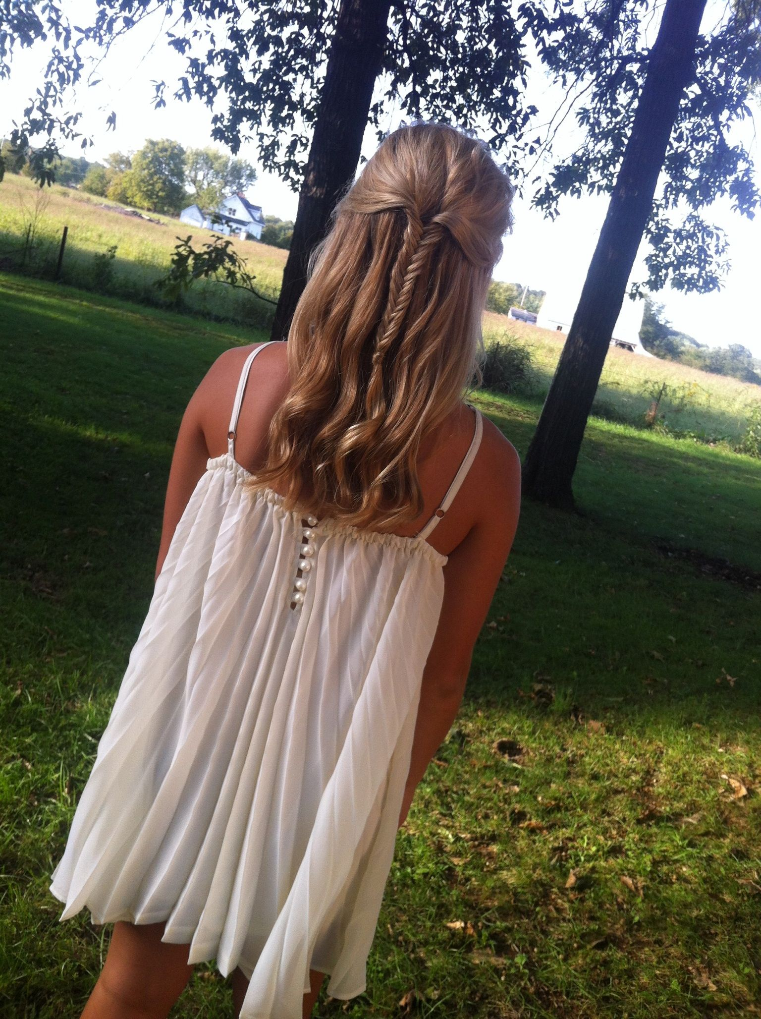 Homecoming hair summertime pinterest hair hair beauty and