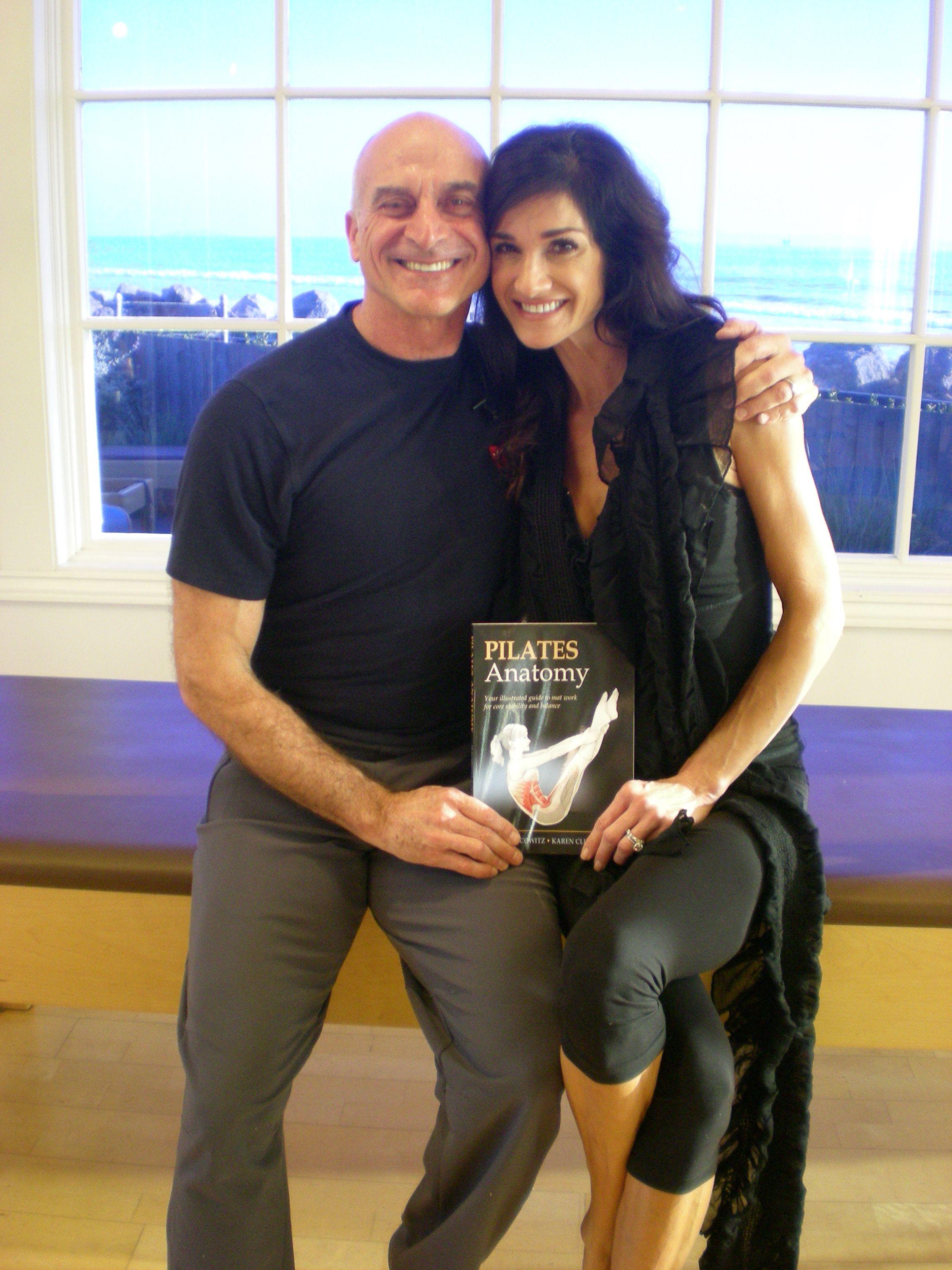 With my Mentor Rael Isacowitz. Pilates Anatomy textbook. | Rhythm ...