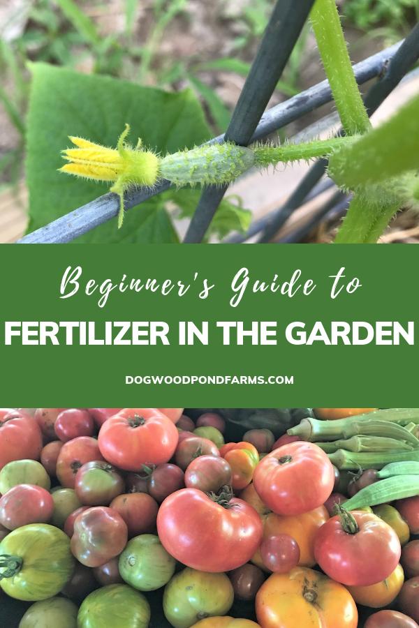 Fertilizer For The Vegetable Garden Organic Gardening 400 x 300
