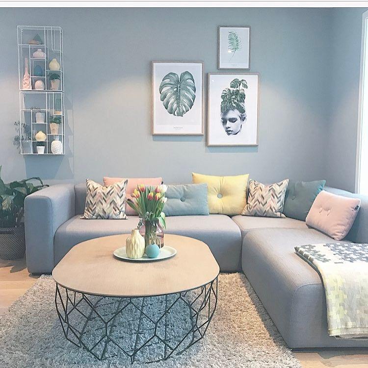 I love the colors in This home ✨L i n d a   J o h a n s e n ✨ (@lindajohansen86) på Instagram