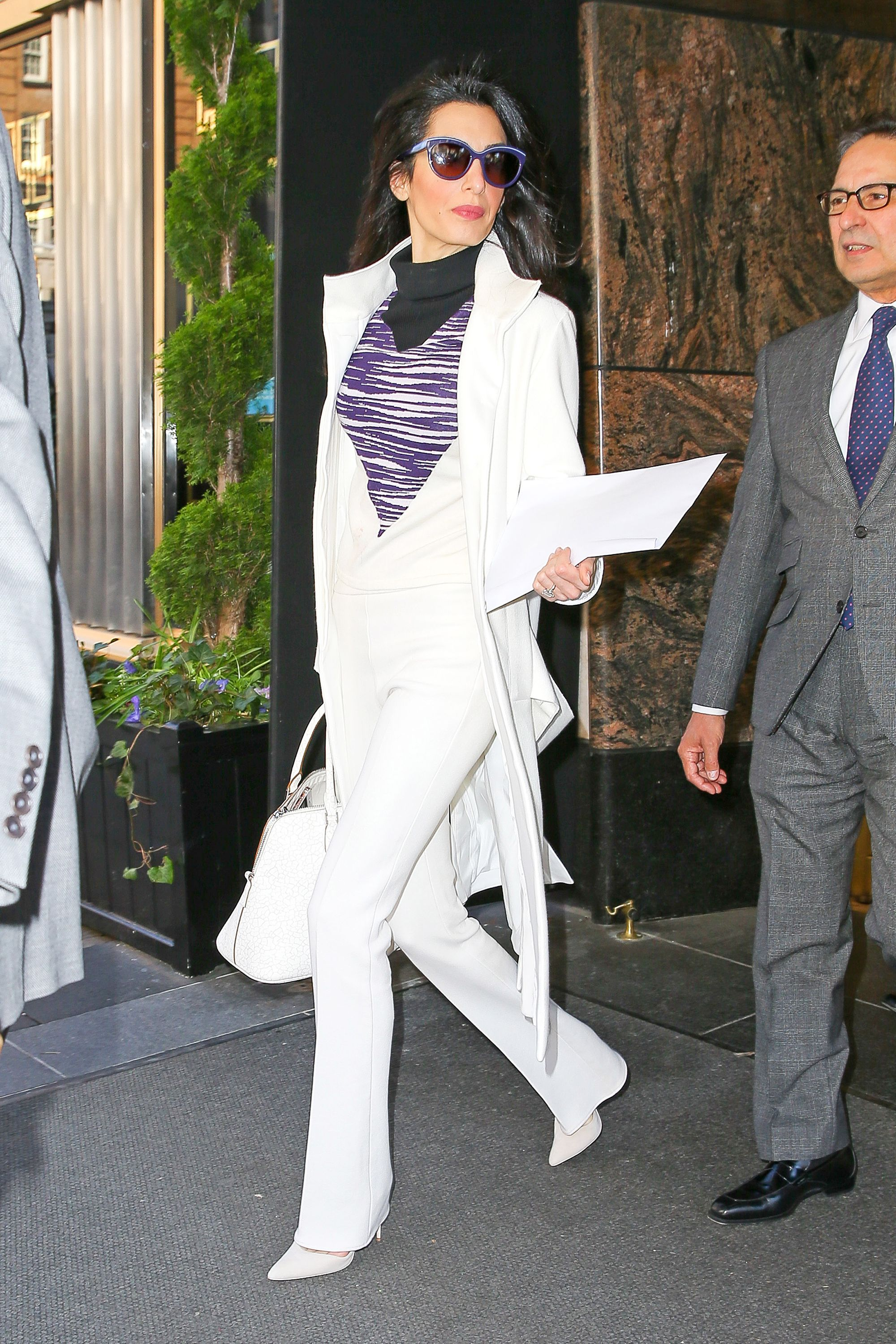7 Impeccable Fashion Tips You Can Learn From Amal Clooney SELF 73