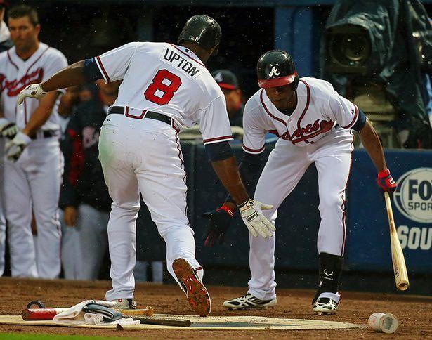 Justin Upton S Homers Atlanta Braves Braves Tickets Braves