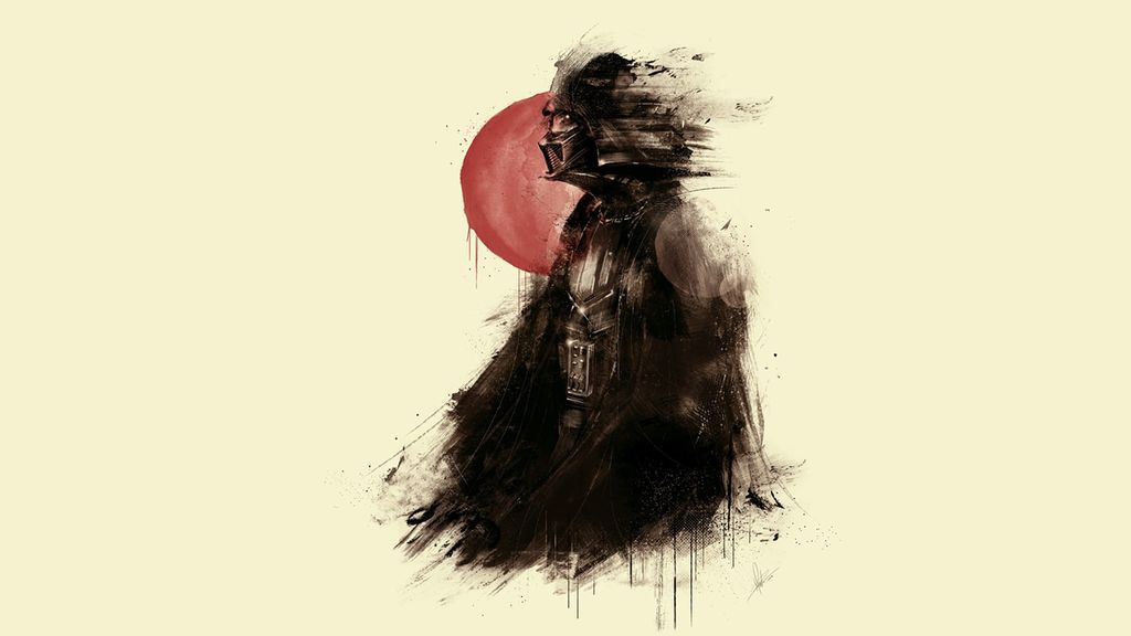 Darth Vader fan art wallpaper