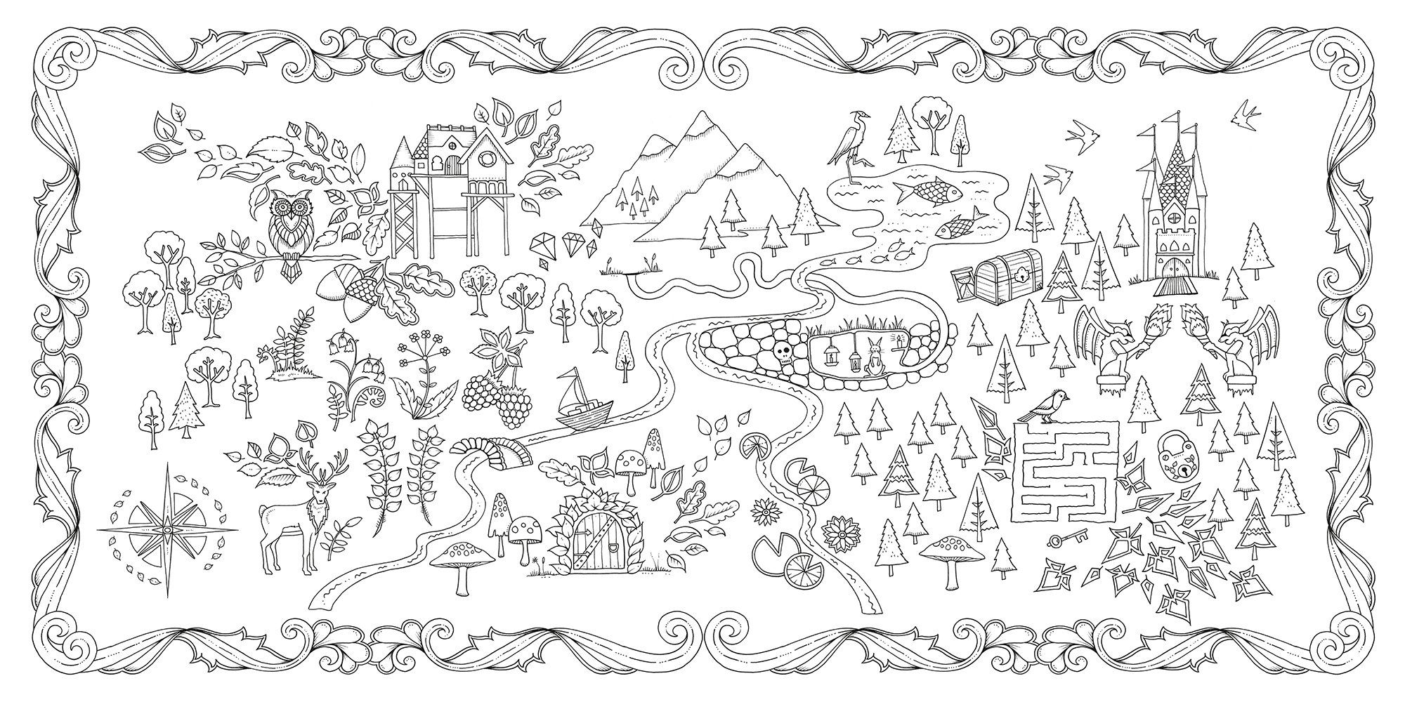 Enchanted Forest An Inky Quest