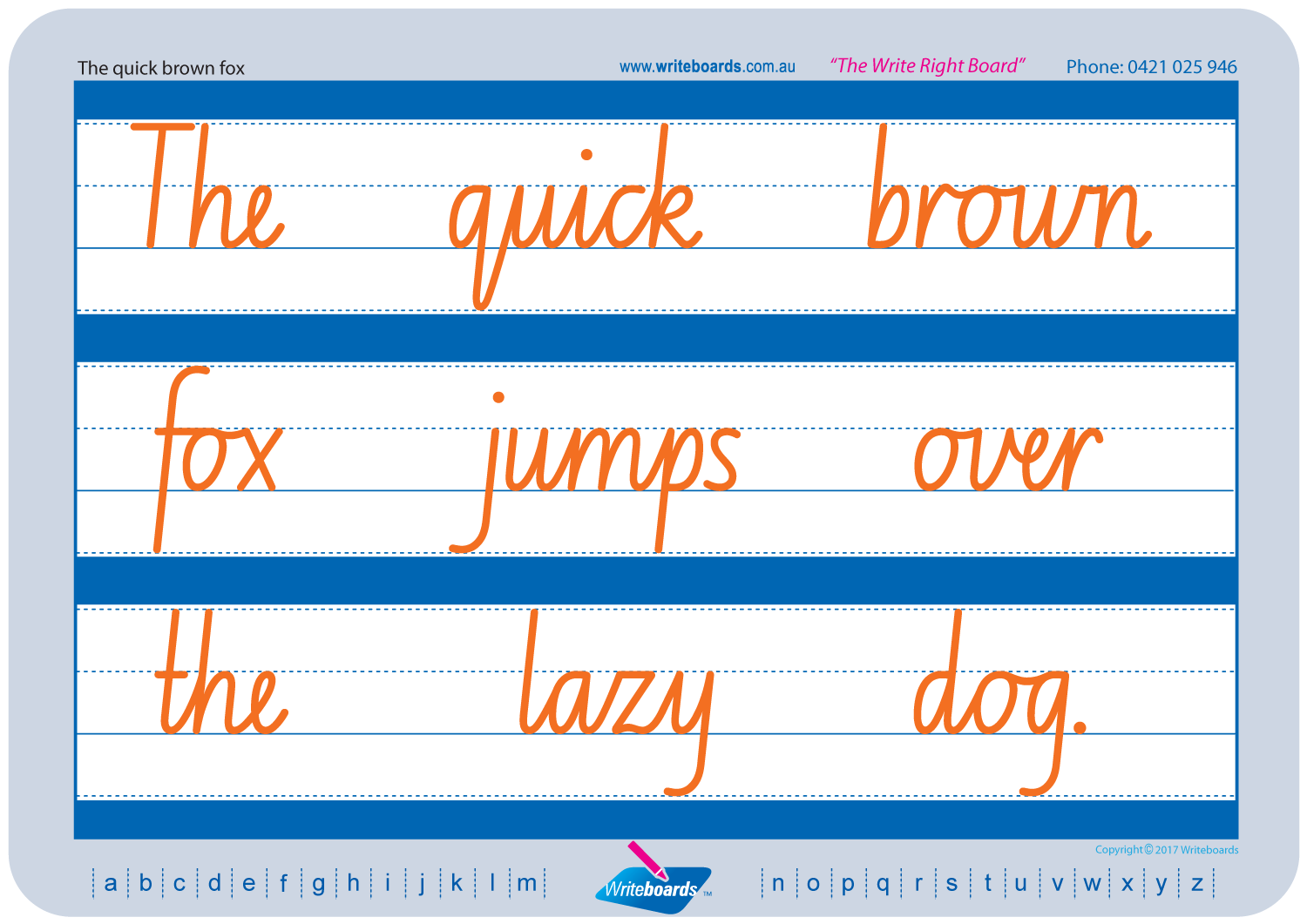 Cursive Writing Pack Nsw Foundation Font