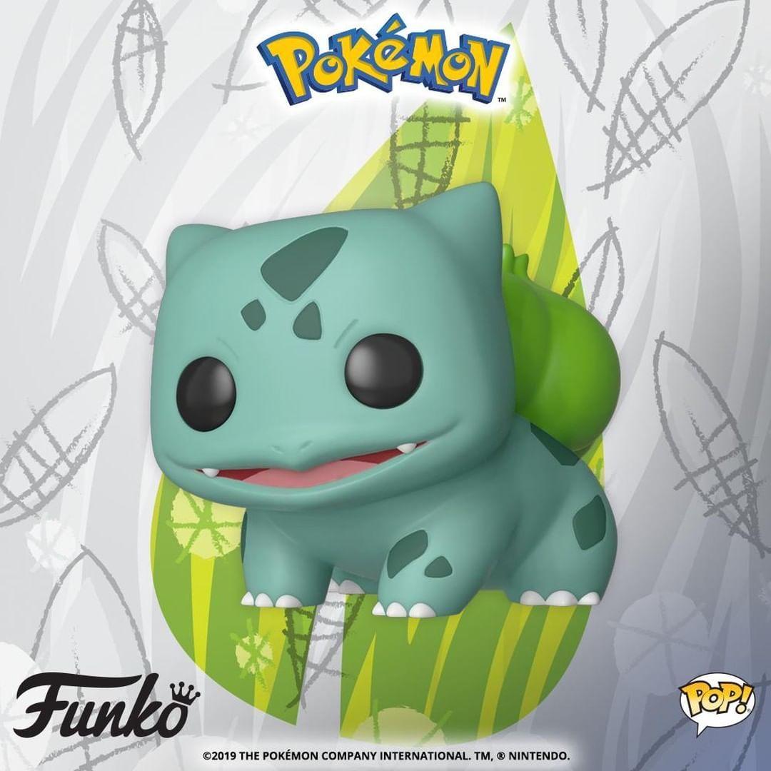 Funko Pop Animation BULBASAUR Pokemon #453 PRE-ORDER