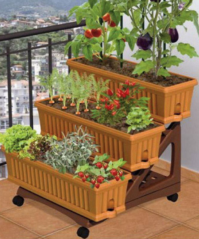 Small Patio Vegetable Garden Ideas Part - 47: Chic Apartment Patio Garden Ideas Tiny Apartment Patio Gardens Patio  Vegetable Garden Ideas - Patios Are A Wonderful Area To Spend Your  Summertime.