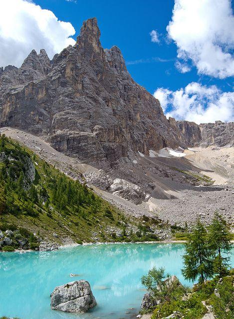 Lago del Sorapiss, Dolomiti