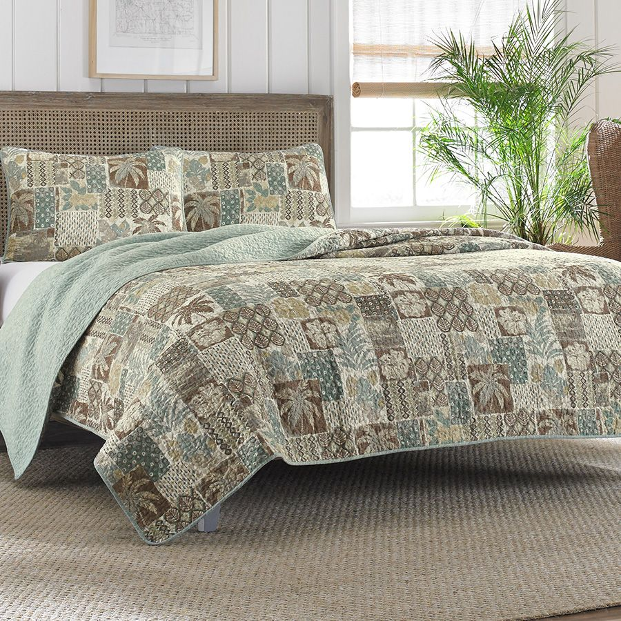 Tommy Bahama Cayman Quilt Set From Beddingstyle Com Dream Master