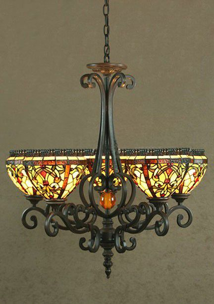 Galicia tiffany chandelier hobbit lord of the rings house galicia tiffany chandelier mozeypictures Gallery