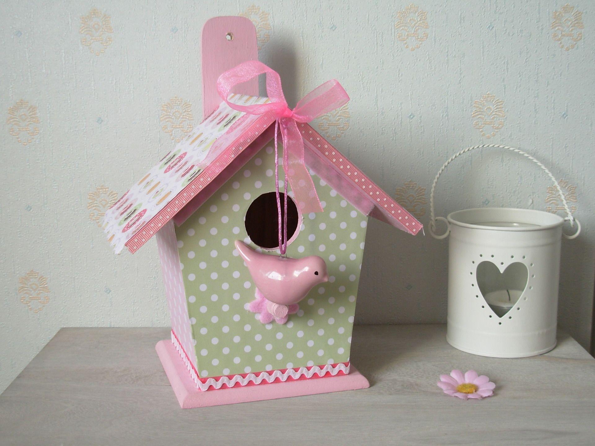 nichoir decoration oiseau porcelaine pastel d coration. Black Bedroom Furniture Sets. Home Design Ideas