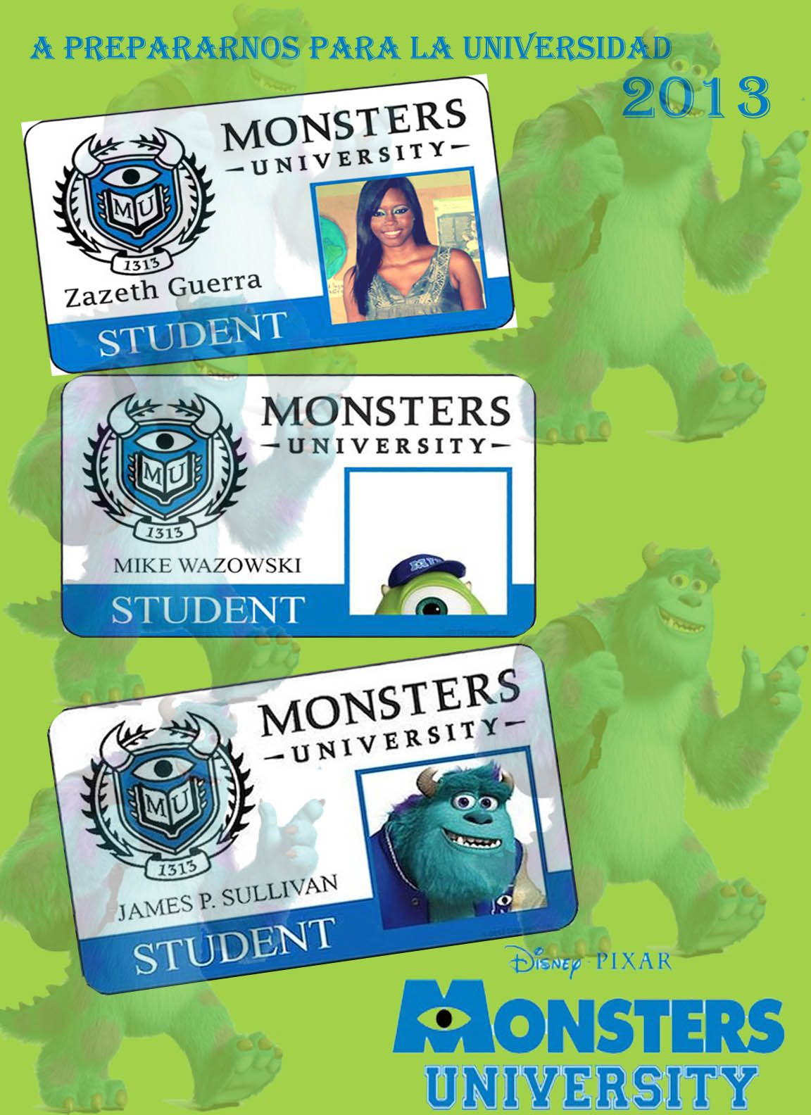 Monster Inc 2 University Fun To Make With The