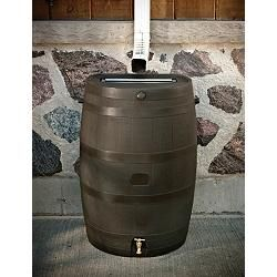 Rain Barrel 190l Canadian Tire With Images Rain Barrel Water Storage Tanks