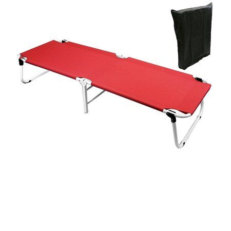 Sports Outdoors Cot With Storage Camping Bed Camping Cot