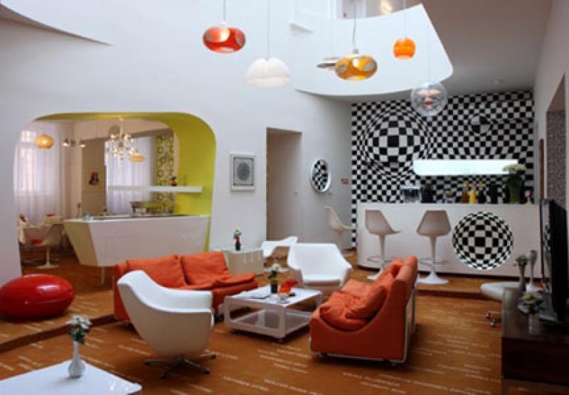 Soggiorno Vintage ~ Idee arredamento soggiorno vintage canlic for . disegni interni