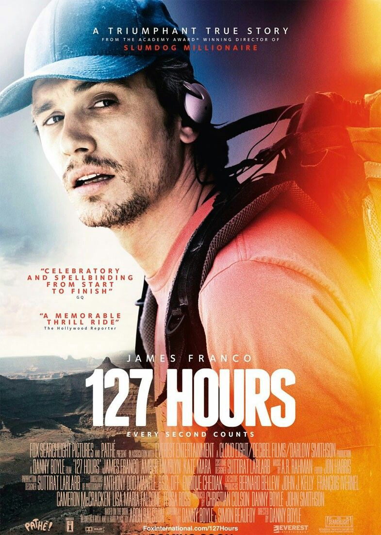 127 Hours Is A 2010 Biographical Survival Drama Film Directed Co Written And Produced By Danny Boyle Https En Wikipedi Film Affiche De Film Affiche Cinema