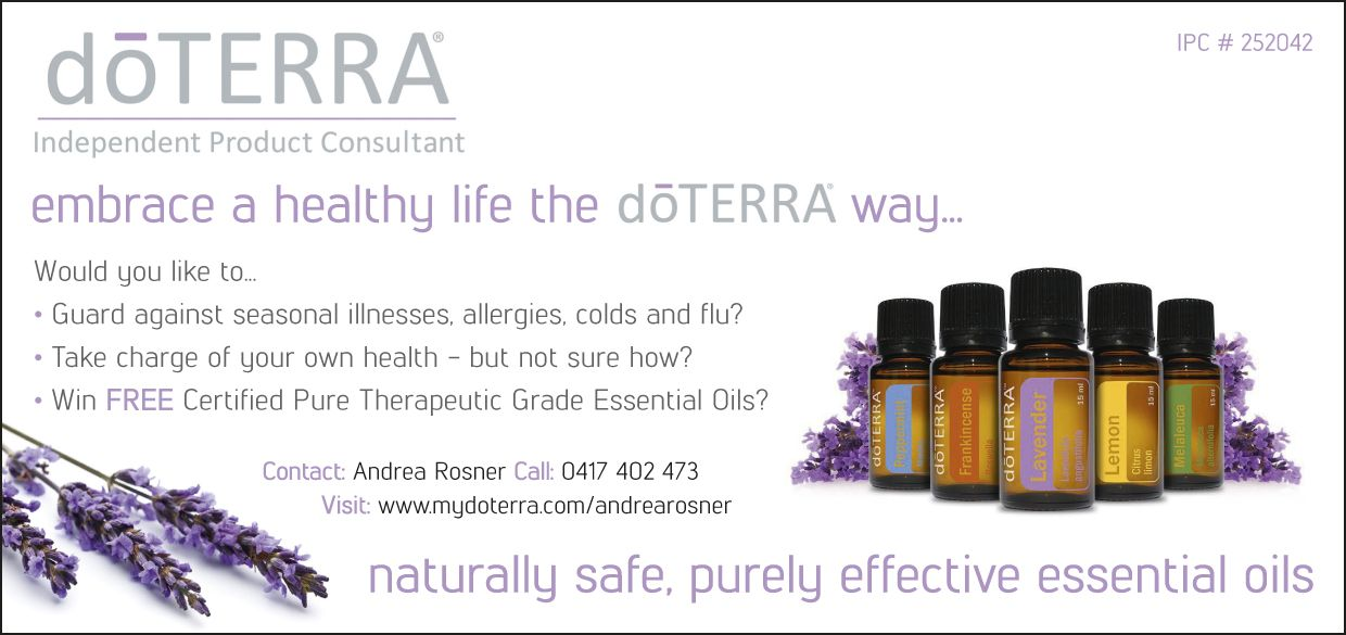 Advert For Andrea An Independent Product Consultant With Doterra On