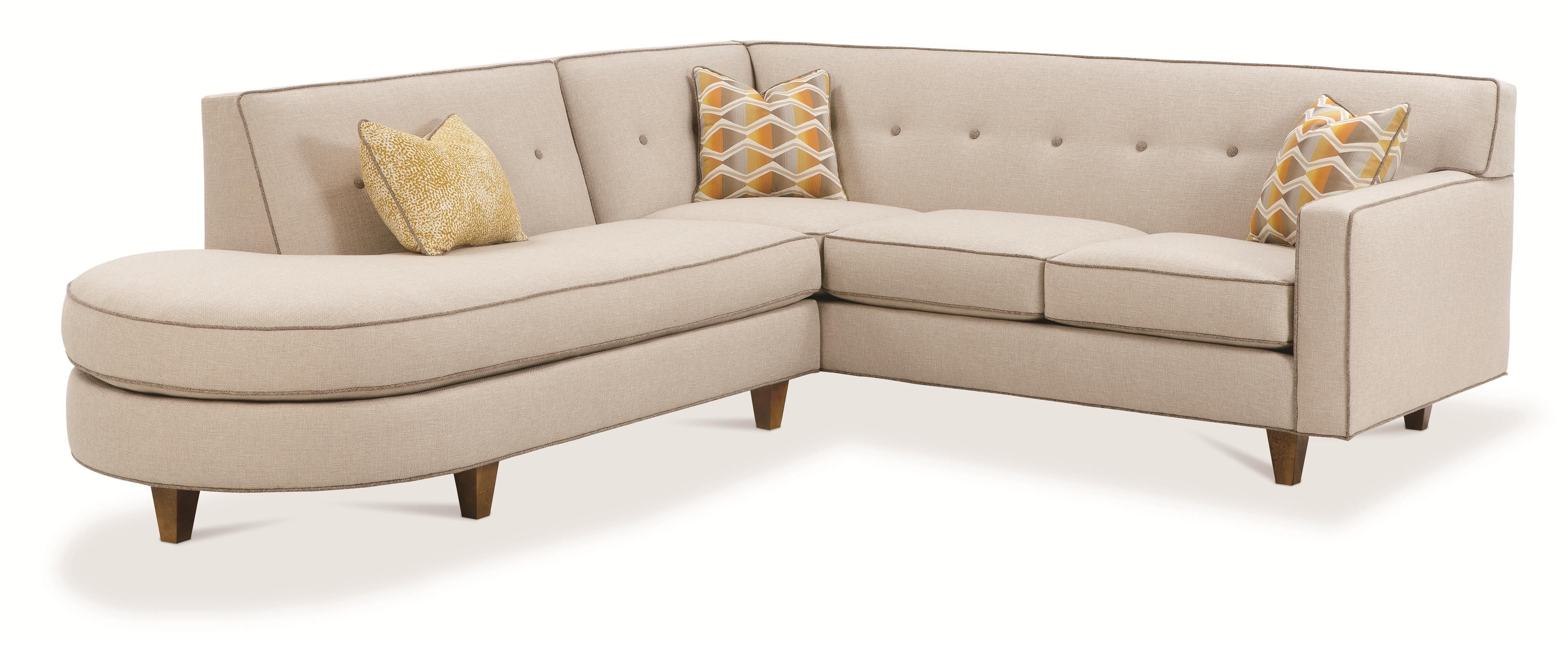 Best Rowe Dorset Contemporary 2 Piece Sectional Sofa With 400 x 300