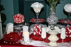 Wedding Buffet - Red & White