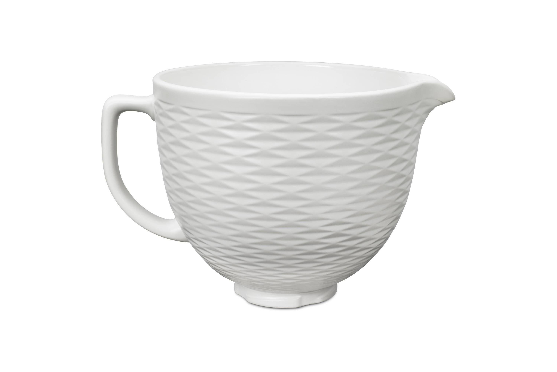 Kitchenaid design series 5qt embossed ceramic bowl