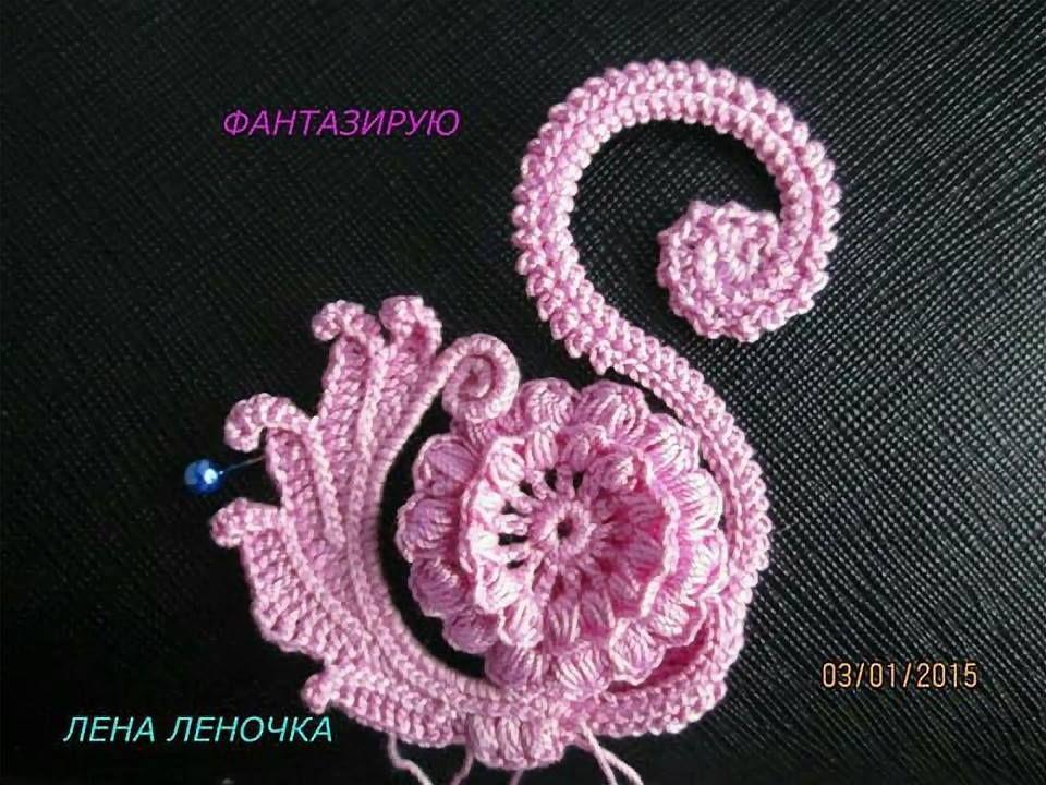 Pin de Yolanda Pacifico en crochet | Pinterest | Apliques y Flor