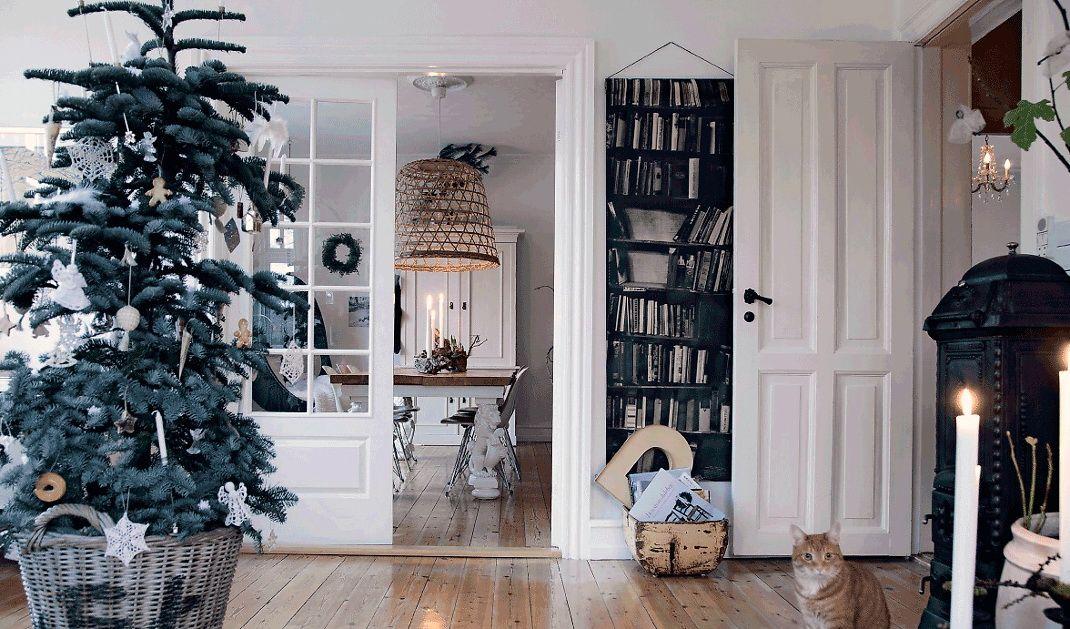 Witte Kerst Huis : Binnenkijken kerst huis in denemarken u stijlvol styling