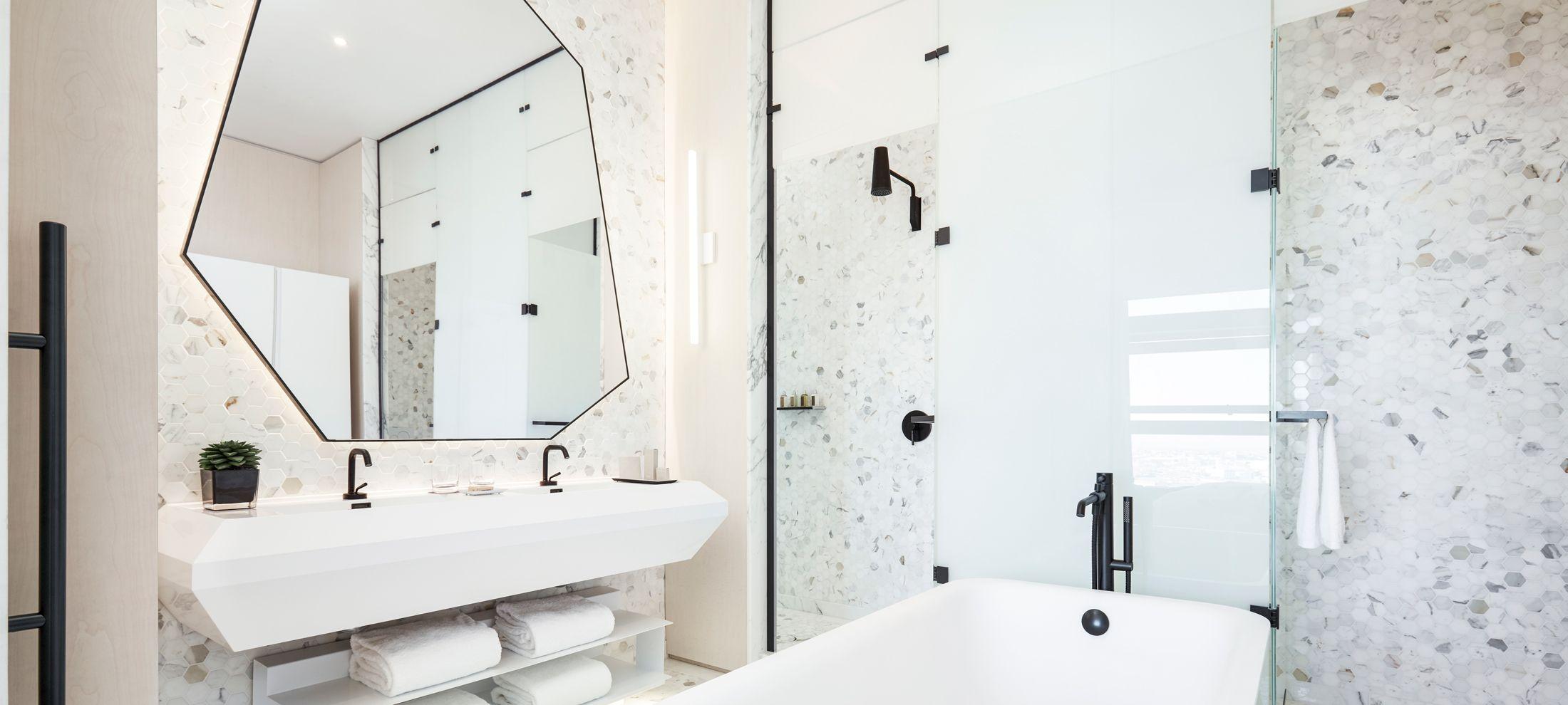 studio munge // william vale bathroom Interior design firm ...