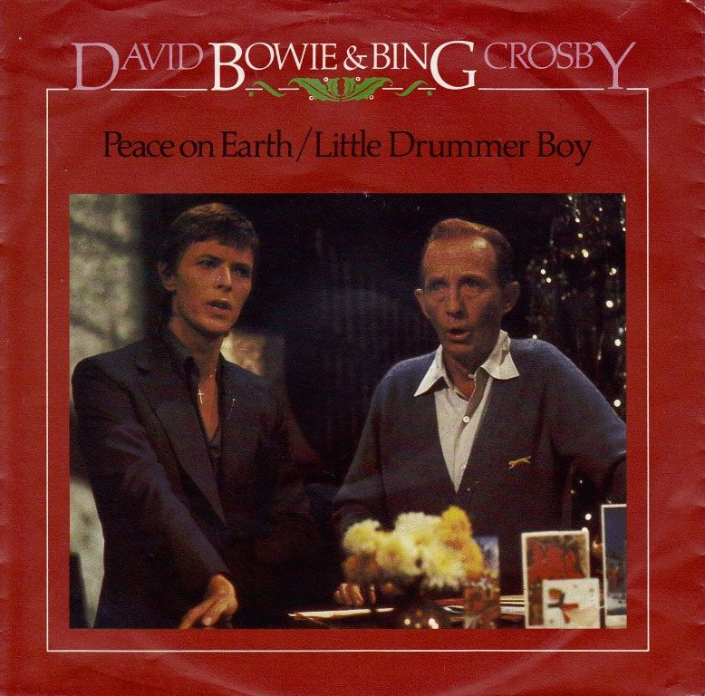 David Bowie And Bing Crosby- Peace On Earth / Little Drummer Boy..best Christmas cd!!