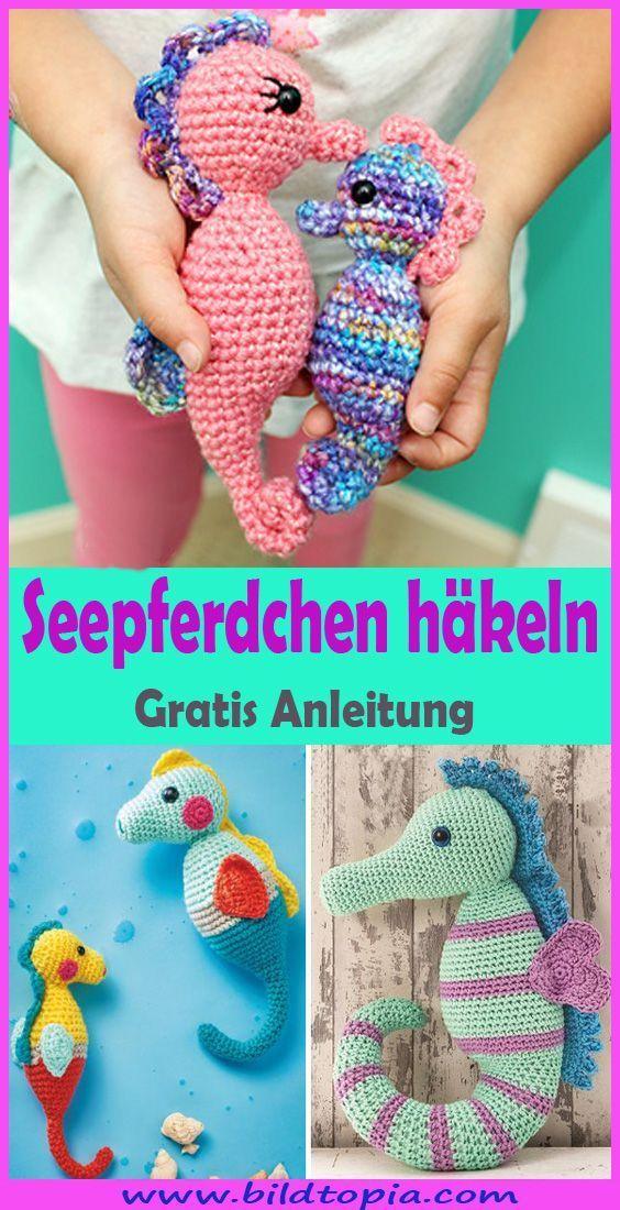 Photo of Seepferdchen häkeln – kostenlose und einfache Anleitung, # Anleitung # Einfach # Häkeln # Kosten …