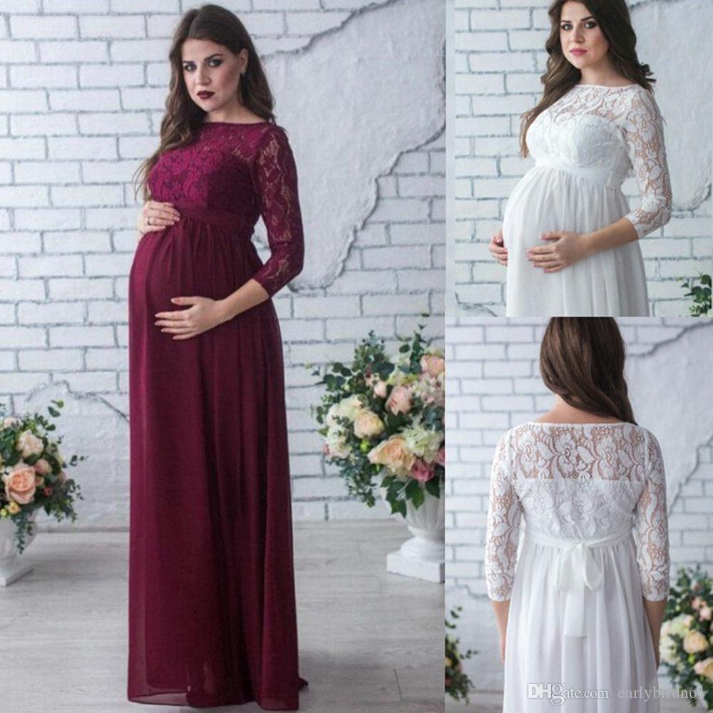 kleid mit spitze für schwangere bilder in 2020 | kleid