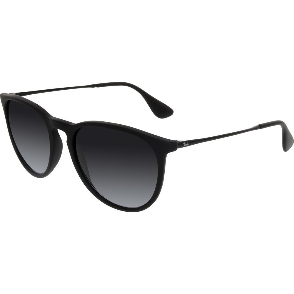 acb59aedff212 Ray-Ban Women s Gradient Erika RB4171-622 8G-54 Black Round Sunglasses   RayBan  RoundSunglasses