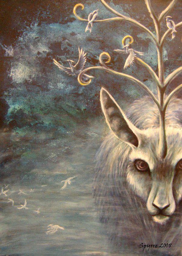 Misty deerthing by ~Spyrre on deviantART