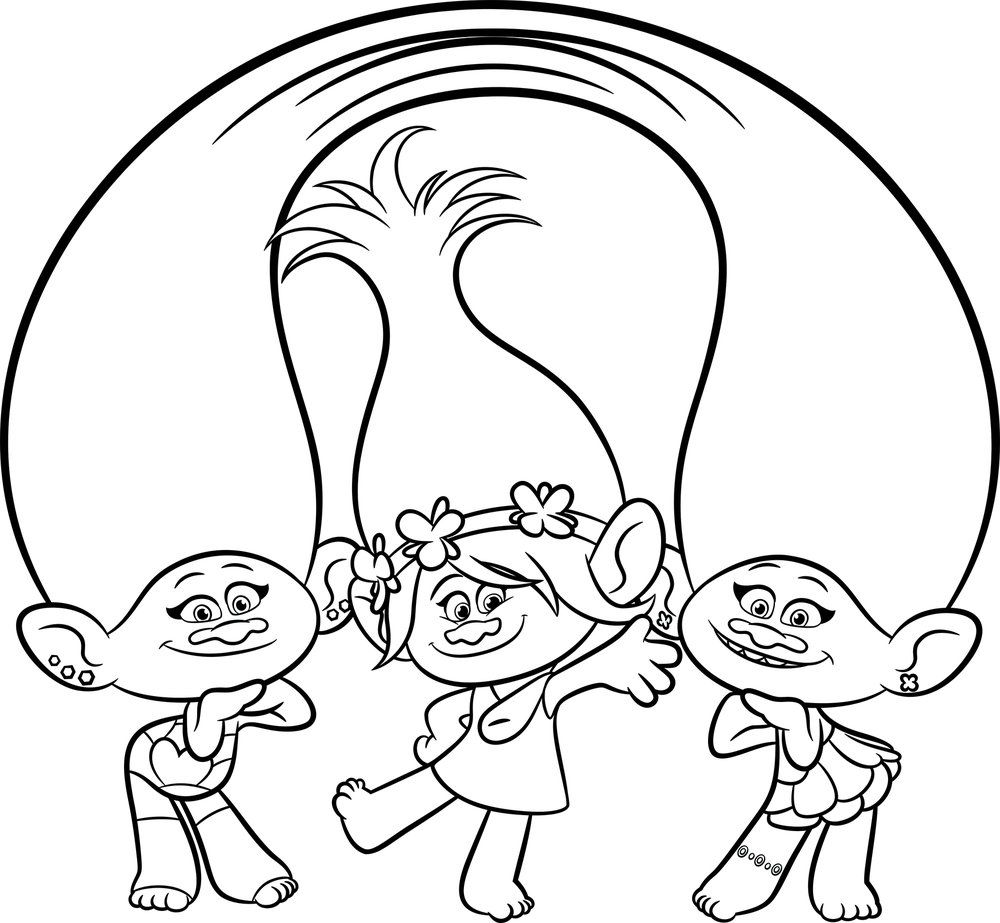 Trolls Movie Coloring Pages | Coloring Pages | Pinterest