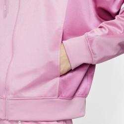 Photo of Nike Sportswear Full Zip Hooded Women's Jacket – Pink NikeNike