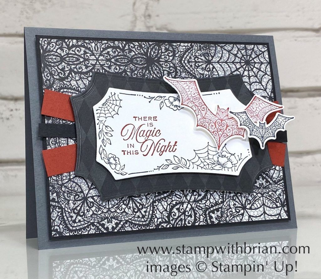 Stampin Up Halloween Card Ideas 2020 Magic In This Night – a Halloween Beauty in 2020 | Halloween cards