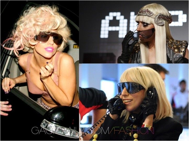 f84b747fc6 Lady Gaga s 20 Most Favorite and Unique Sunglasses Collection ...