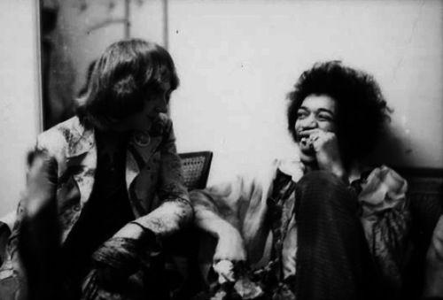 Hendrix & Mitch Mitchell  (1969)