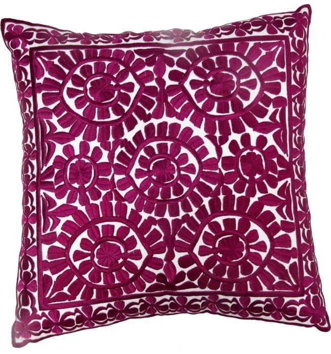 Aubergine Cotton Prestige Pillow Pillows Pinterest Pillows Beauteous Aubergine Decorative Pillows