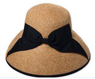 New Summer Fashion Women Wide Brim Elegant Hat For Women High Quality 5197b4d93e