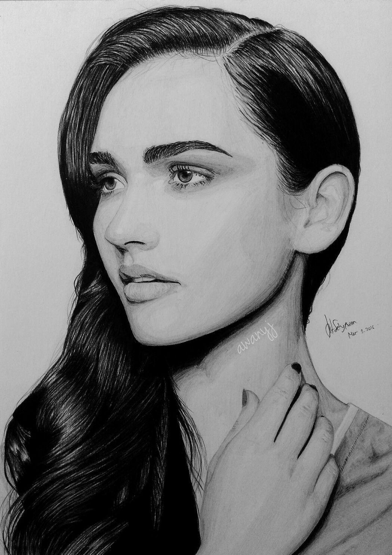 Draw Drawing Pencil Portrait Pensil Lukisan Gambar Lukisan