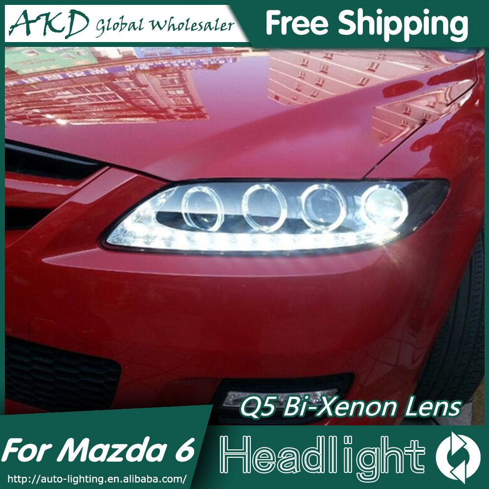 Akd Car Styling For Mazda 6 Headlights 2004 2013 Mazda6 Led